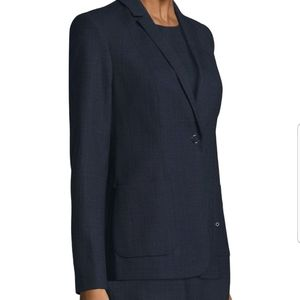 ELIE TAHARI Wendy Jacket Black Navy NWT